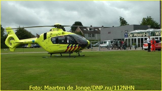 Lifeliner1 inzet Alkmaar Foto: Maarten de Jonge