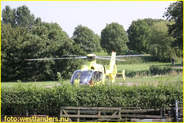Lifeliner2 inzet Maasdijk Foto: westlanders.nu