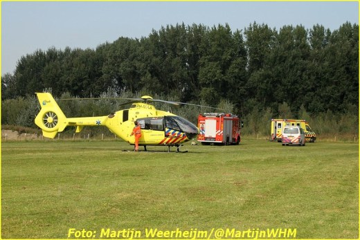 Lifeliner2 inzet Vlaardingen Foto: Martijn Weerheijm