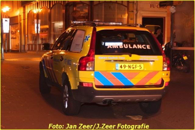 2014-01-11 Onwelwording in wijnlokaal, Hoogstraat 009-BorderMaker