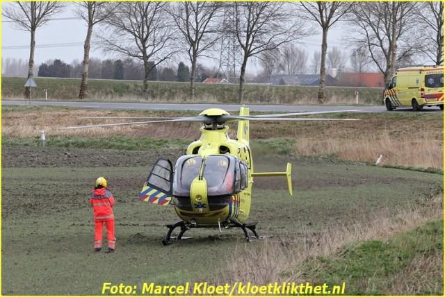 ongeval s'-heerenhoeksedijk overzande 13-2-2013 160-BorderMaker