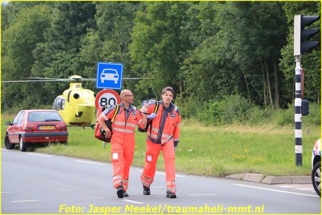 2014 0619 Traumaheli Inzet Ijweg te Hoofddorp 010 (5)-BorderMaker
