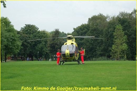 2014-08-25 - Traumahelikopter - Blaricum (Bijvanck) - Buizerd