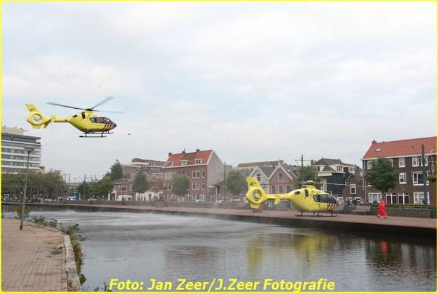 2015-10-19 Dubbele traumahelikopter inzet Schiedam 008-BorderMaker