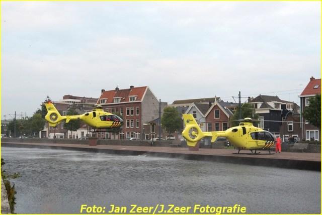 2015-10-19 Dubbele traumahelikopter inzet Schiedam 009-BorderMaker