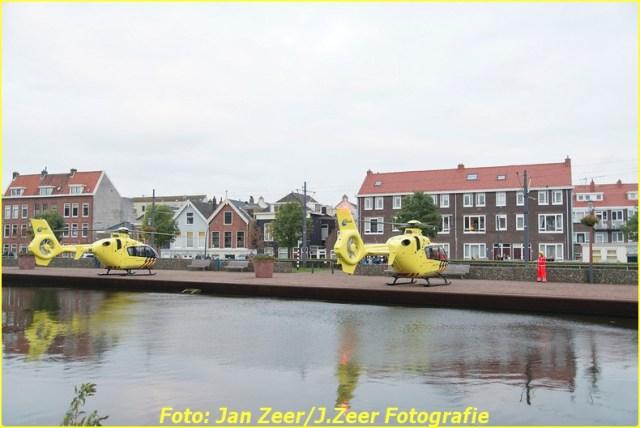 2015-10-19 Dubbele traumahelikopter inzet Schiedam 021-BorderMaker