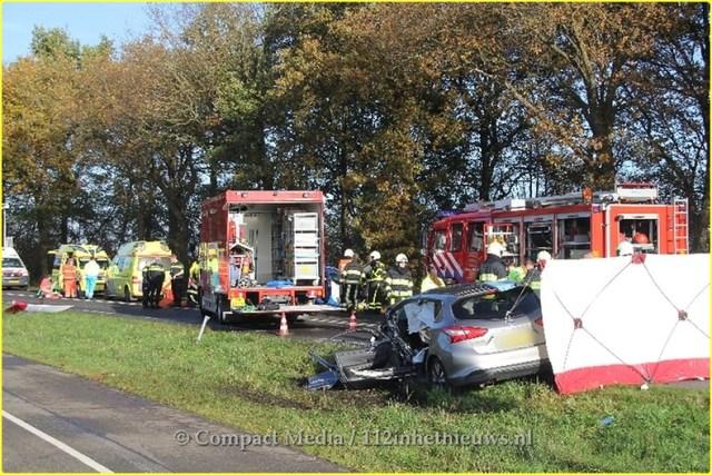 Dodelijk ongeval N381 Oosterwolde 21-BorderMaker