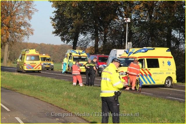 Dodelijk ongeval N381 Oosterwolde 26-BorderMaker