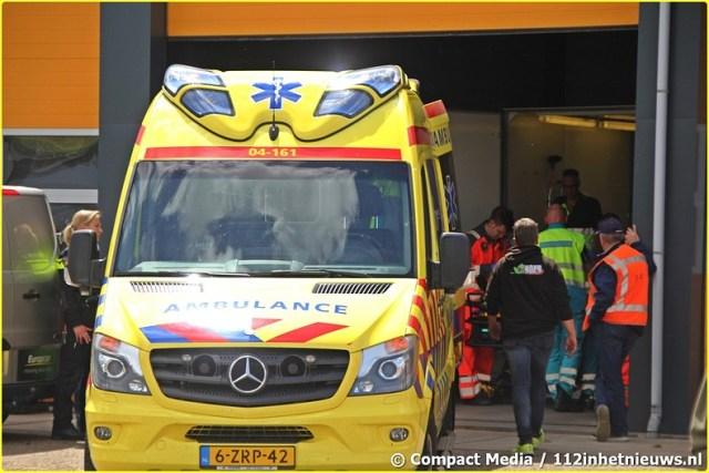 112 Brommerrijder onderuit tijdens race in Blokzijl 12-BorderMaker