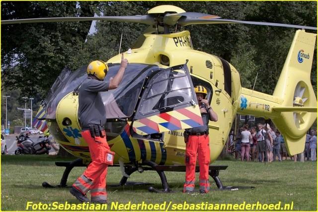 Traumaheli 20160724 Segbroeklaan 's Gravenhage - SN - 004-BorderMaker