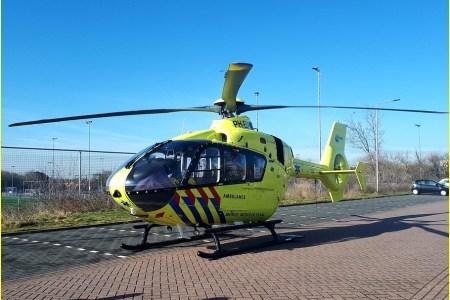 14 Maart Lifeliner2 Katwijk Randweg