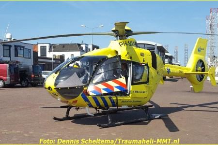 18 April Lifeliner1 IJmuiden Trawlerkade