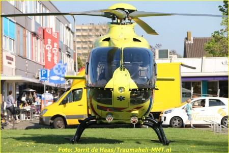 20 April Lifeliner2 Sliedrecht Simon Stevinstraat