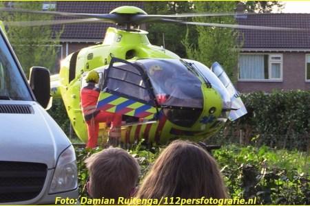 21 April Lifeliner3 Putten Burgemeester Vermeerlaan