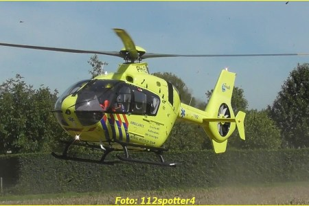 17 September Lifeliner3 Herpen Sint Sebastianusstraat