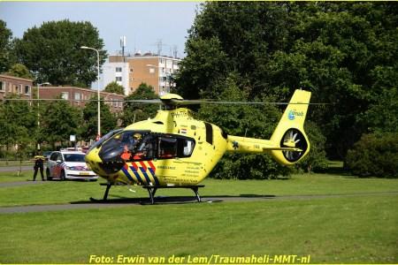 Motorrijder gewond bij aanrijding in 's-Gravenhage