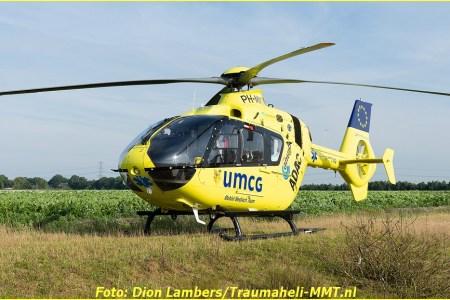 Gewonden bij zwaar ongeval op de N391 bij...