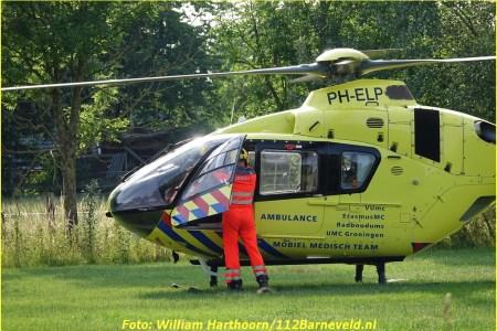 Fietser zwaargewond na aanrijding in Bennekom