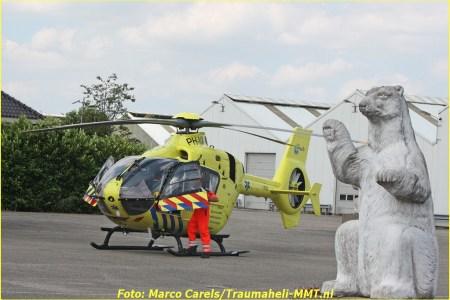 Motorrijder zwaargewond bij ernstig ongeval...