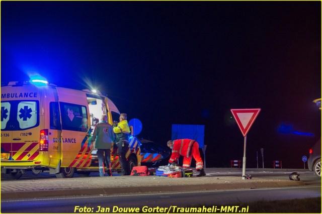 2020-11-20 Ongeval Motoer lemmerweg Afslag Ijlst 3-BorderMaker