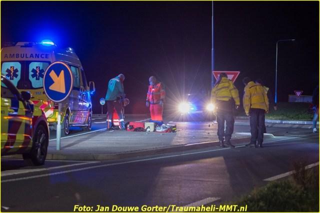 2020-11-20 Ongeval Motoer lemmerweg Afslag Ijlst 7-BorderMaker