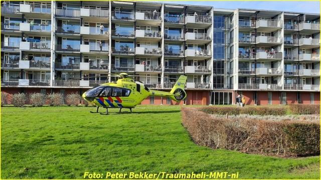 Traumahelikopter Pijnacker 21 feb (2)-BorderMaker