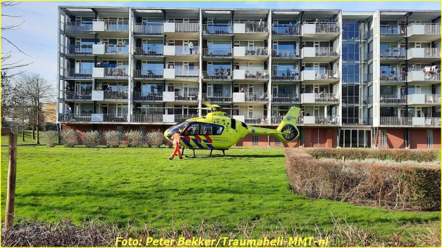 Traumahelikopter Pijnacker 21 feb (7)-BorderMaker