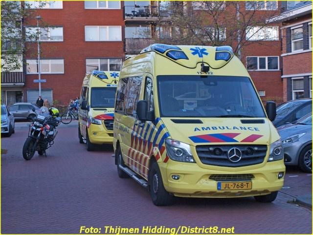 21 April Lifeliner2 's-Gravenhage Hoofpolderstraat
