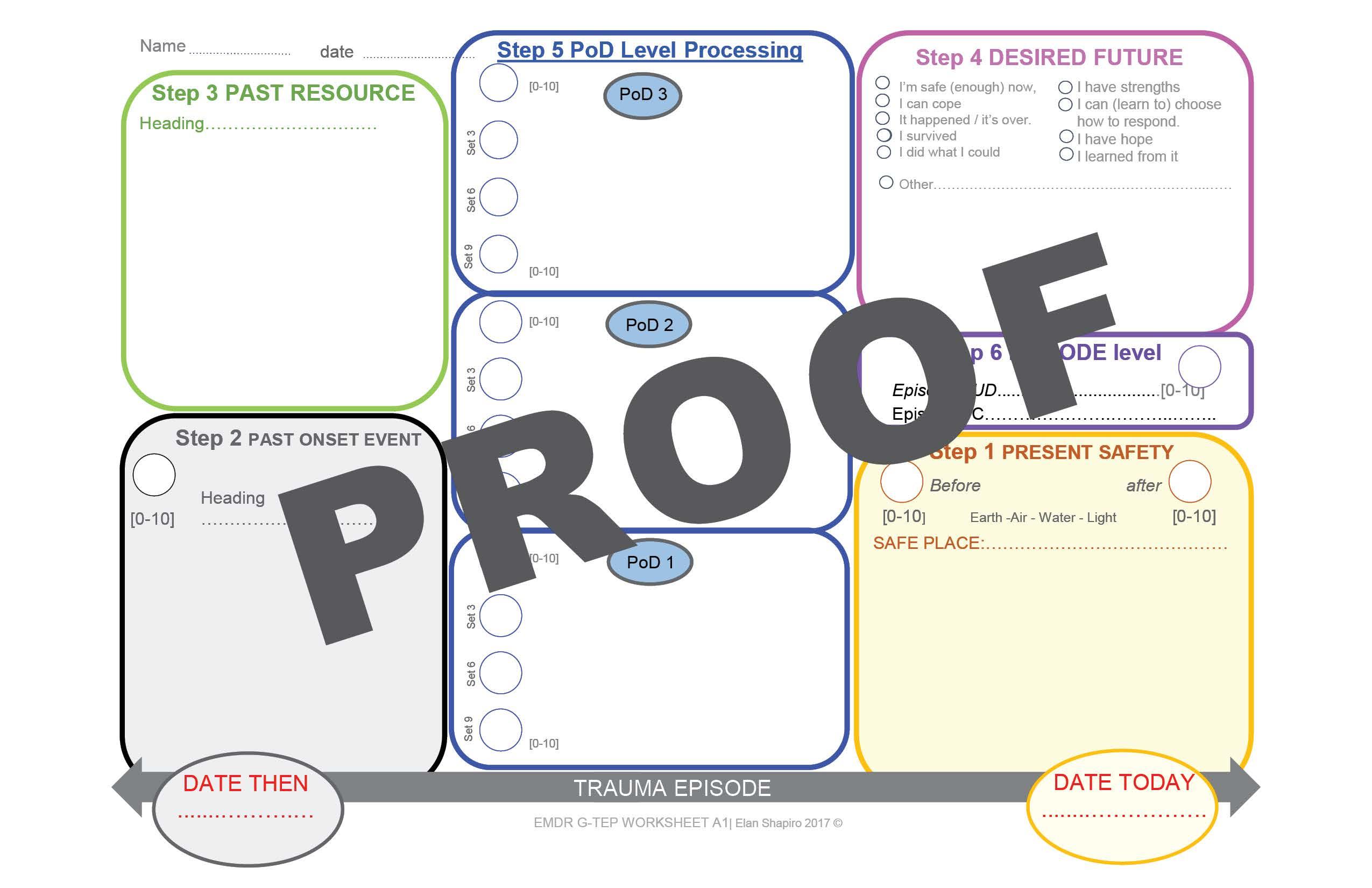 G Tep Worksheet Pad Adult Version