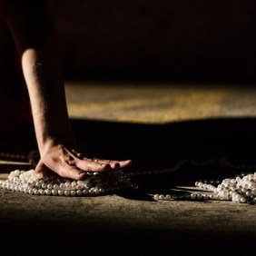 She was the universe / SPILL Festival of Performance / Ipswich / 2014 / photo by Guido Mencari