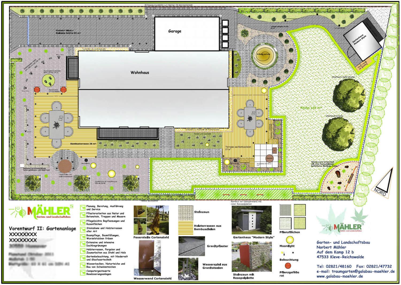 Schon Gartenplan Exklusiver Garten