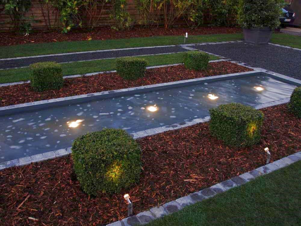 LED Strahler im Wasser