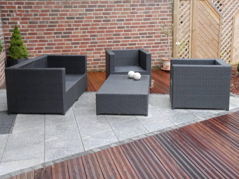Loungemöbel Terrasse