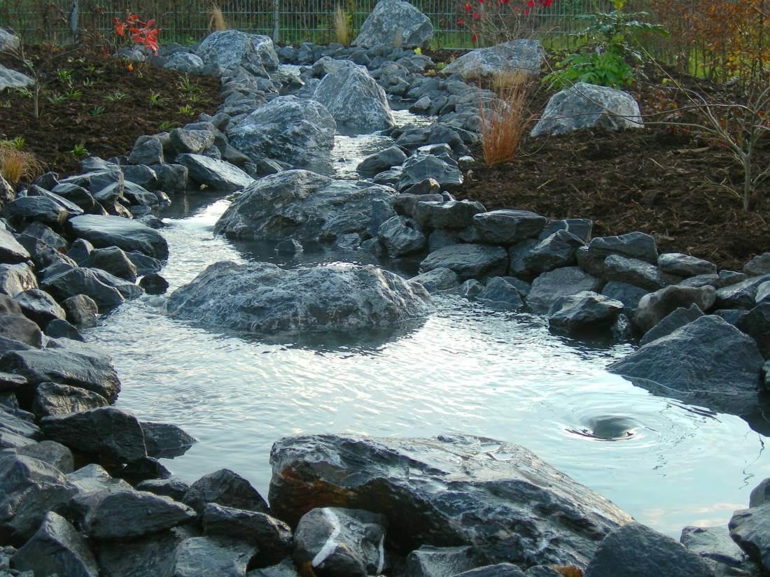 Wasserfall galabau m hler bachlauf garten - Bachlauf im garten bilder ...