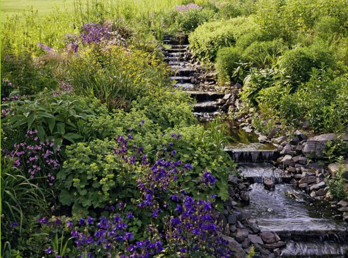 Garten Bachlauf · Bachlauf