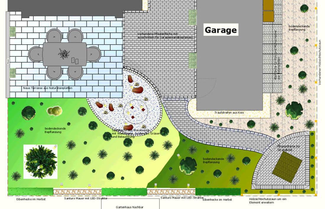 Reihenhausgarten Kleve