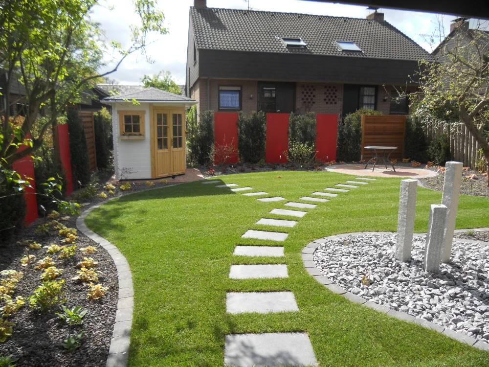 Farbgestaltung Garten
