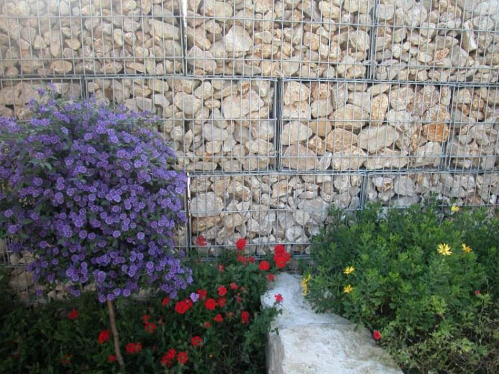 Gabionen galabau m hler steinkorb - Gabionenwand bepflanzen ...
