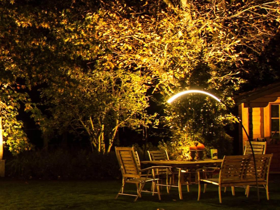 gartenbeleuchtung strahler led. Black Bedroom Furniture Sets. Home Design Ideas