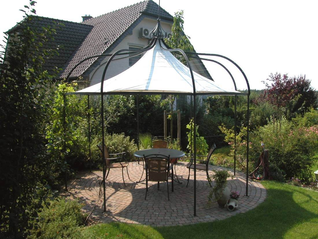 gartenpavillon galabau m hler pavillon garten. Black Bedroom Furniture Sets. Home Design Ideas