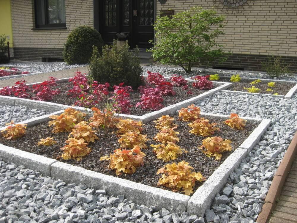 Pflegeleichter Vorgarten | Galabau Mähler | Vorgarten
