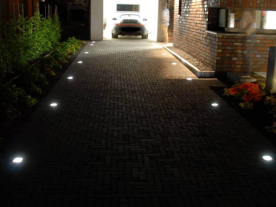 Sehr LED Leuchtsteine Pflaster | Galabau Mähler | Traumgarten DD37