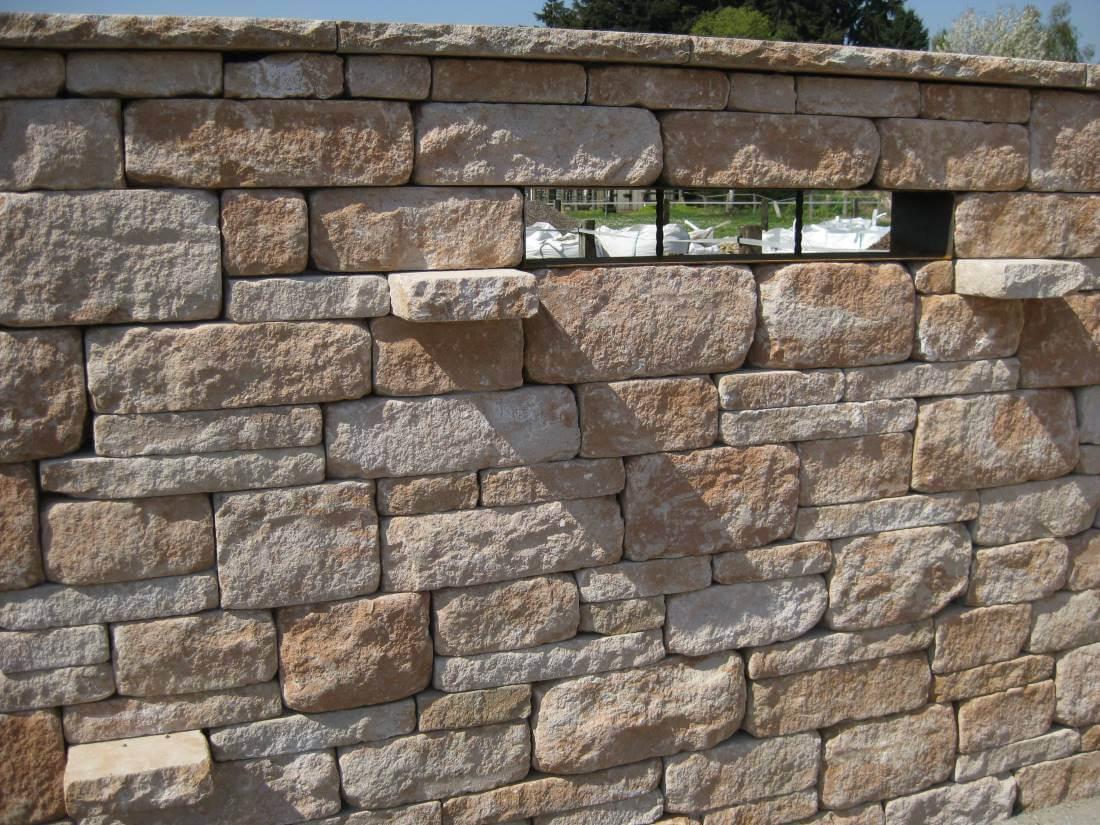 Santuro Mauer aus Betonstein
