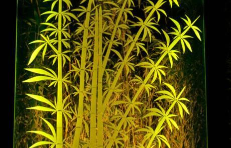Plexiglas Gartenbeleuchtung