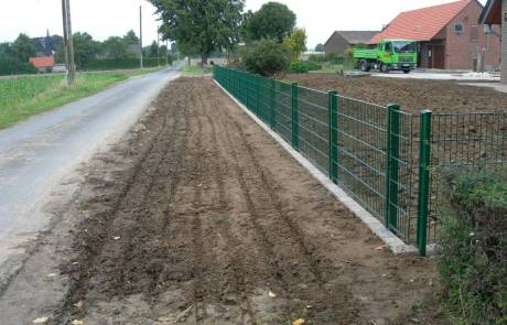 Stahlgitterzaun für den Garten