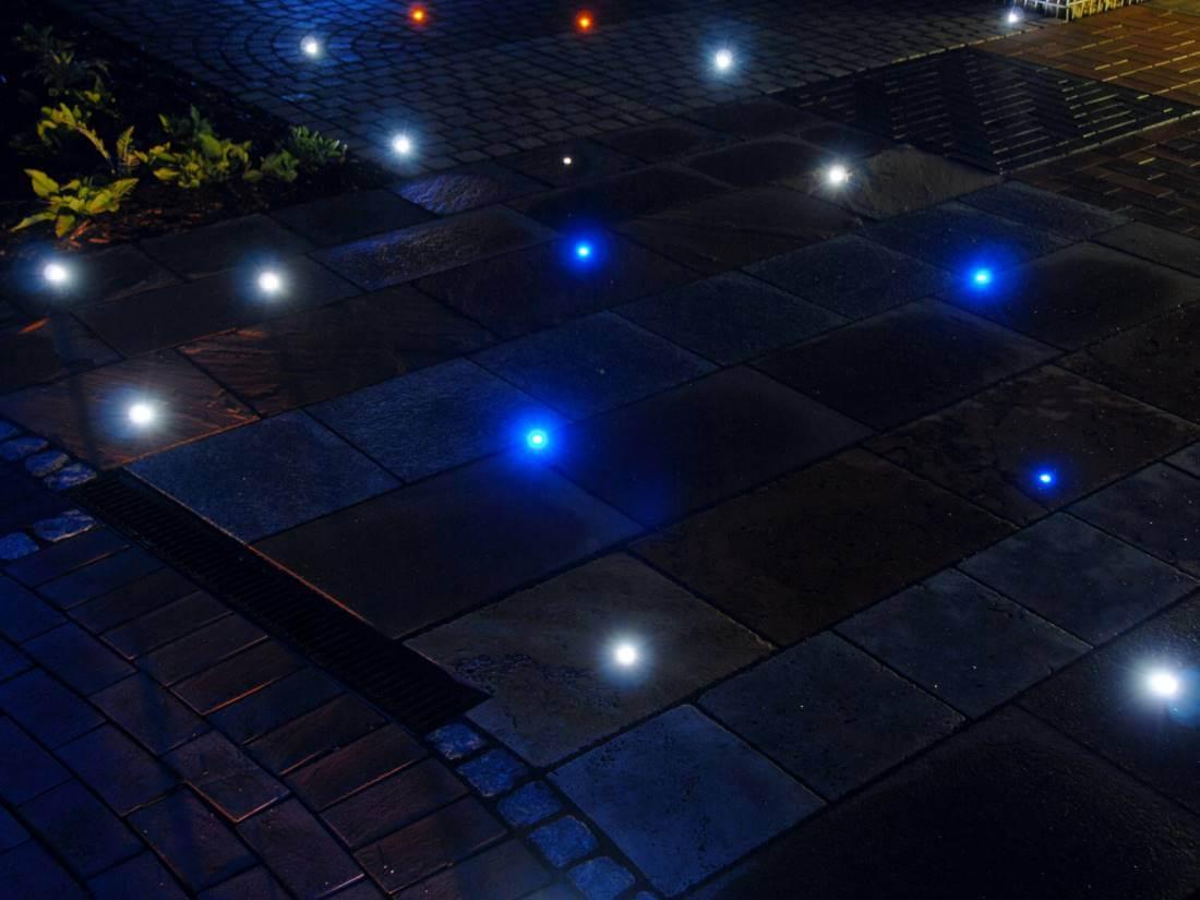 led lichtpunkte terrasse galabau m hler traumgarten. Black Bedroom Furniture Sets. Home Design Ideas