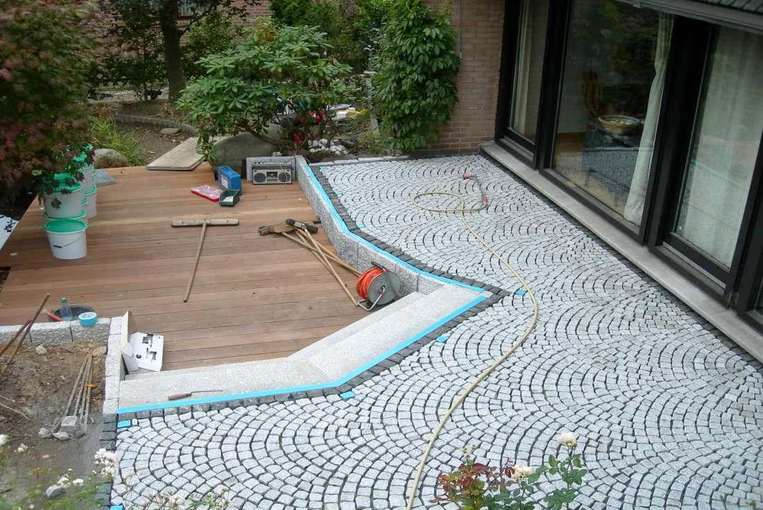 terrassengestaltung holz granitpflaster galabau m hler. Black Bedroom Furniture Sets. Home Design Ideas