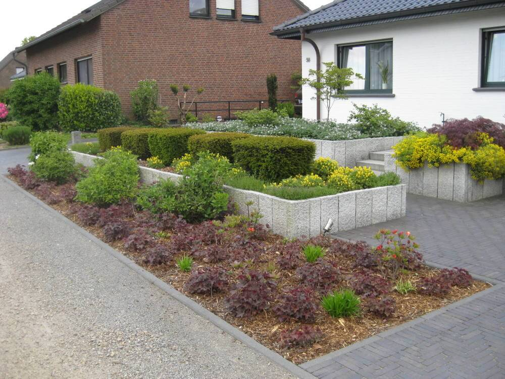 Vorgarten   Galabau Mähler   Vorgarten gestalten