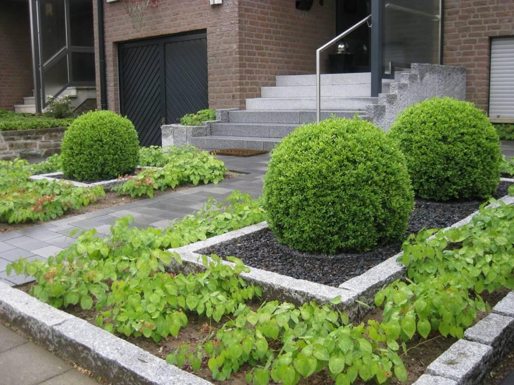 Pflege Leicht pflegeleichter vorgarten galabau mähler vorgarten