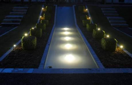 Wasser mit LED beleuchten